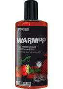 Warm Up Flavored Massage Oil Strawberry 5.07 Ounce